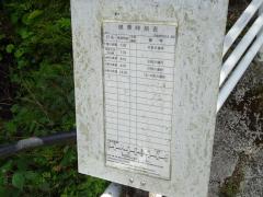 「上湯の原」バス停留所