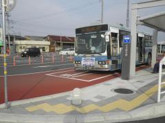 「小川駅」バス停留所