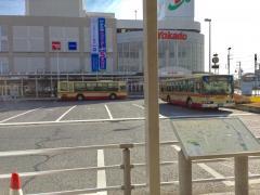 「立場ターミナル」バス停留所
