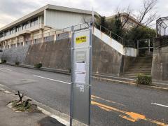 「垢田小学校前」バス停留所