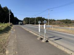 「川戸橋」バス停留所