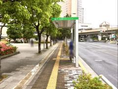「天王洲アイル」バス停留所
