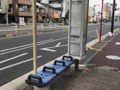 「清水小学校前」バス停留所