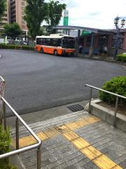「ふじみ野駅西口」バス停留所