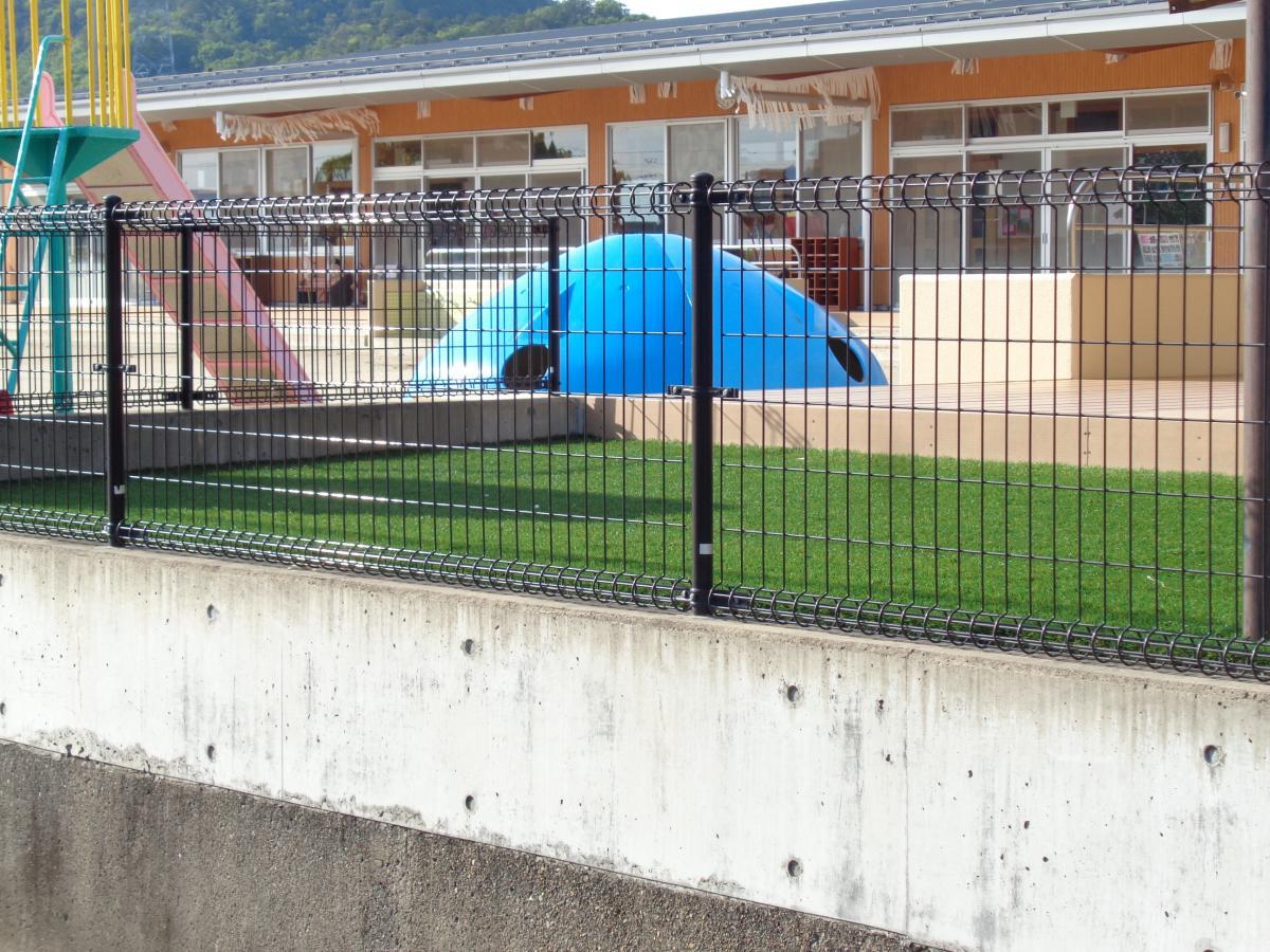 西部保育園外観画像です