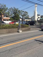 「青柳中央」バス停留所