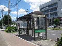 「小林」バス停留所