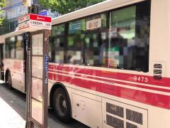 「天神警固神社・三越前」バス停留所