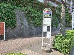 「新栄高校北口」バス停留所