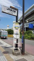「横浜駅改札口前」バス停留所