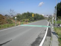 「兵崎南」バス停留所