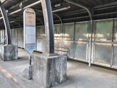 「相武台団地」バス停留所