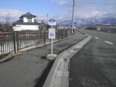 「水原神社口」バス停留所
