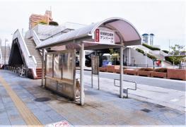 「安城駅前」バス停留所
