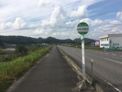 「JAめぐみの武芸川支店前」バス停留所