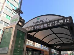 「赤羽駅東口」バス停留所