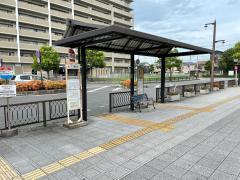 「JR郡山駅(東)」バス停留所