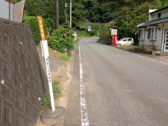 「子守神社」バス停留所