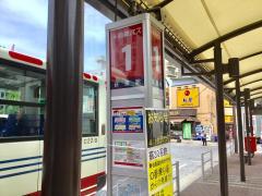 「荻窪駅北口」バス停留所