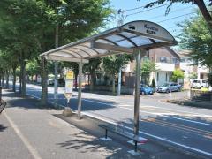 「横山団地」バス停留所