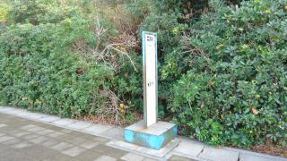 「亀浦口」バス停留所