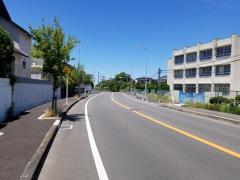 「宮山台中学校前」バス停留所