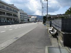 「筒井病院前」バス停留所