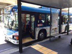 「登戸駅」バス停留所