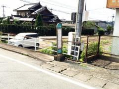 「弓削」バス停留所