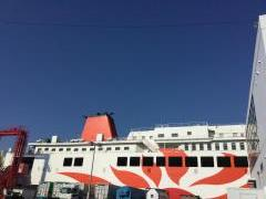 神戸港(六甲アイランド)