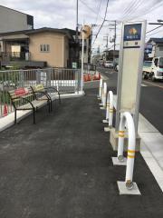 「土師」バス停留所