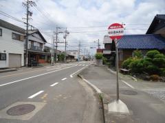 「岐阜農林高前」バス停留所