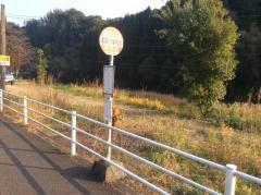 「滝尾小学校前」バス停留所