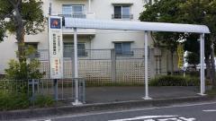 「鈴の宮団地東口」バス停留所