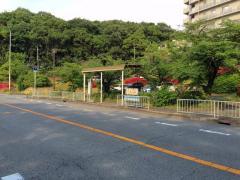 「竹城台センター」バス停留所