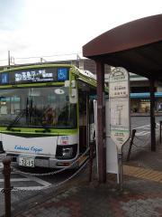 「浮間舟渡駅」バス停留所