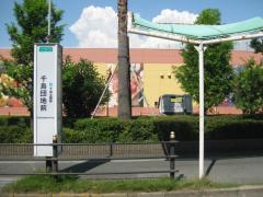 「千島団地前」バス停留所