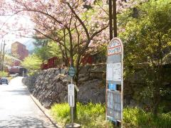 「マイントピア別子」バス停留所