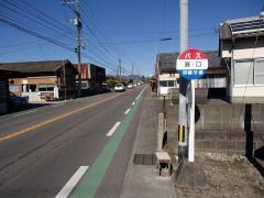 「瀬口」バス停留所