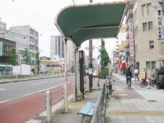 「市岡」バス停留所