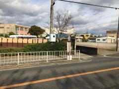「貝塚南高校前」バス停留所