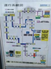 「里見橋」バス停留所