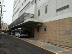 「大手口」バス停留所