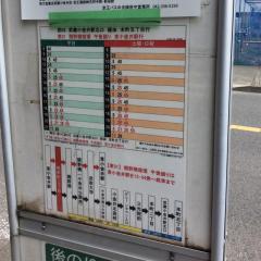 「梶野町三丁目」バス停留所
