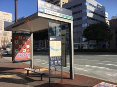 「中洲」バス停留所