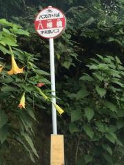 「八幡橋」バス停留所