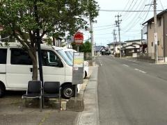「東中田六丁目」バス停留所