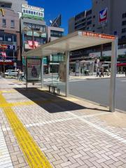 「亀有駅北口」バス停留所