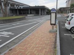 「富合総合支所前」バス停留所
