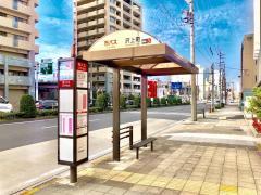 「沢上町」バス停留所